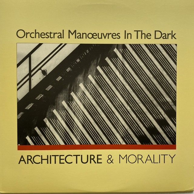【LP・米盤】 Orchestral Manoeuvres In The Dark  /  Architecture & Morality