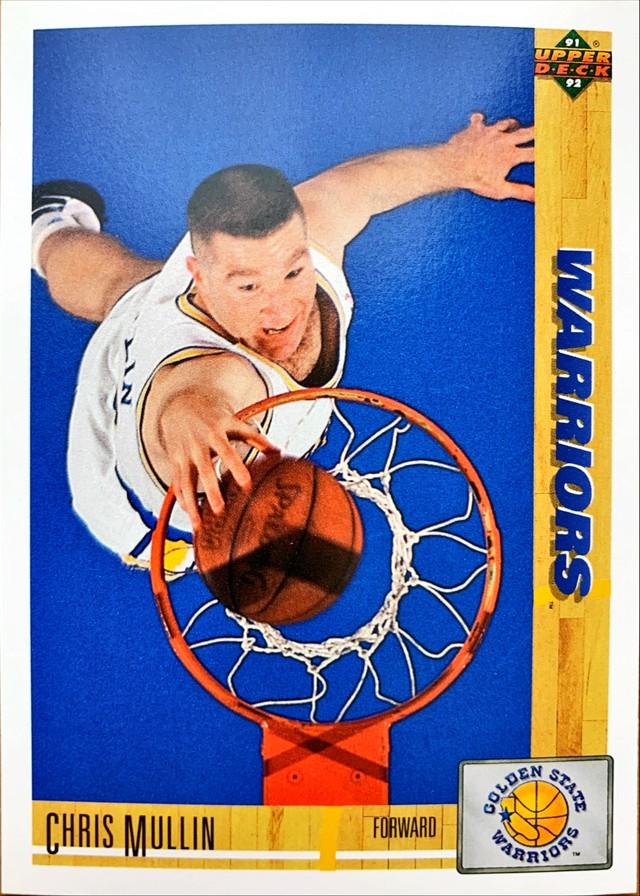 NBAカード 91-92UPPERDECK Chris Mullin #245 WARRIORS