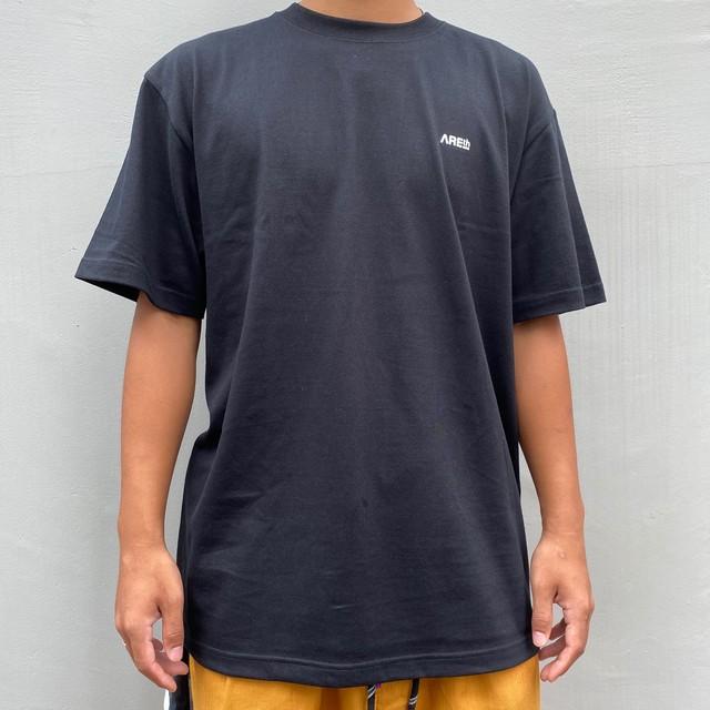 AREth STAMP T-SHIRTS BLACK