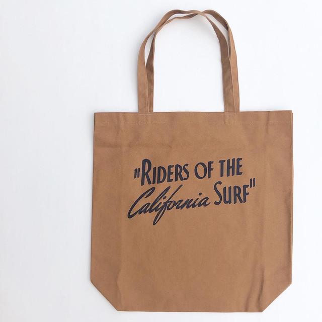 "Surge Coast Store ""Riders Of The California Surf"" Tote Bag  サージコーストストア""ライダースオブザカリフォルニアサーフ""トートバック"