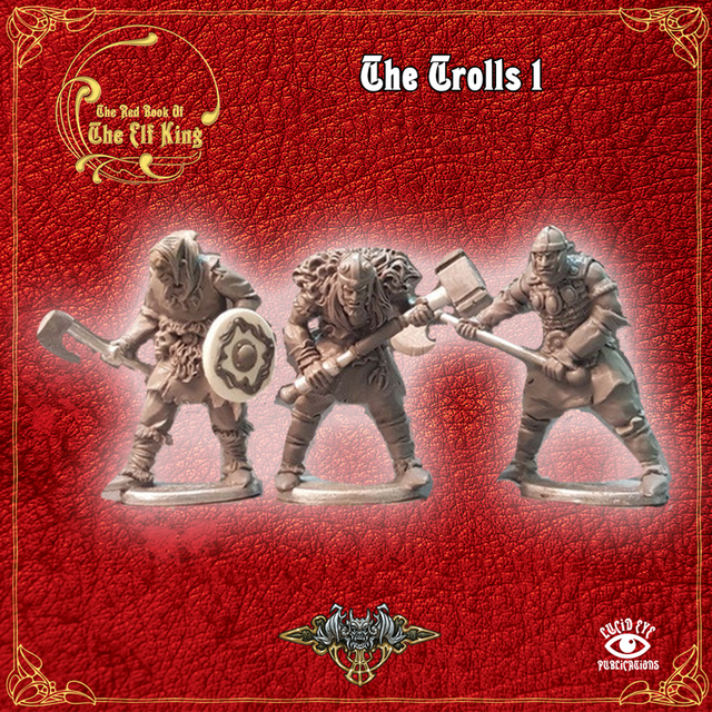 The Trolls 1 (3 figures pack)