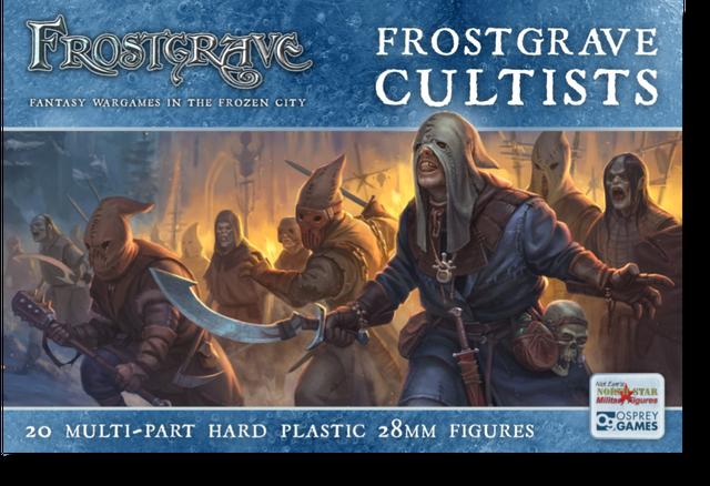 狂信者ボックス[20体入り]( Frostgrave Cultists)