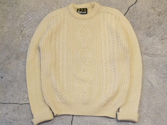 USED 90s Barbour Wool Sweater -0828