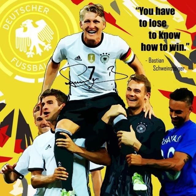 サッカーグラフィックアートパネル バスティアン・シュヴァインシュタイガー ドイツ代表 木製 壁掛け ポスター (001-239)