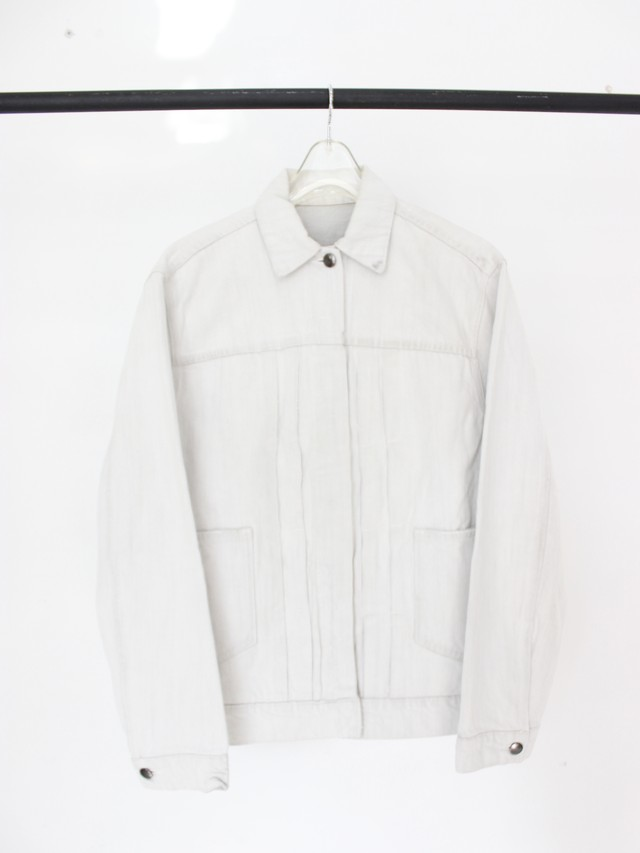 Used HELMUT LANG White Denim Jacket