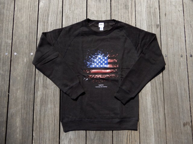damage frag sweat / black