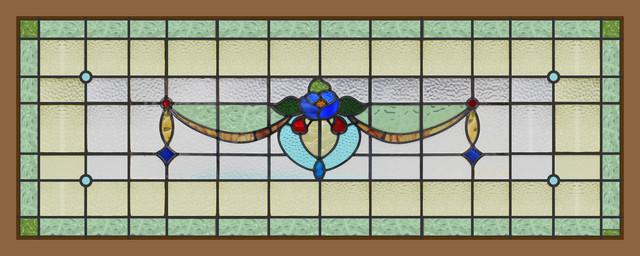 【英国アンティーク】 アンティークステンドグラス F8-821