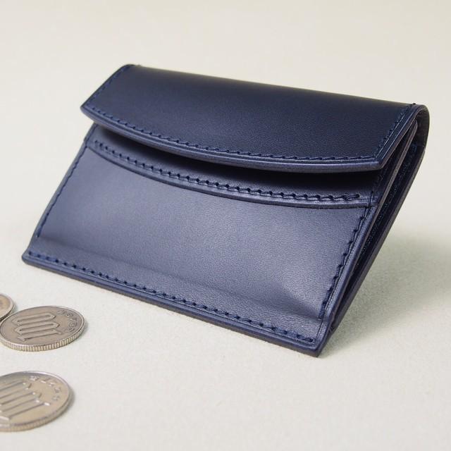お財布みたいなコインケース#ネイビー