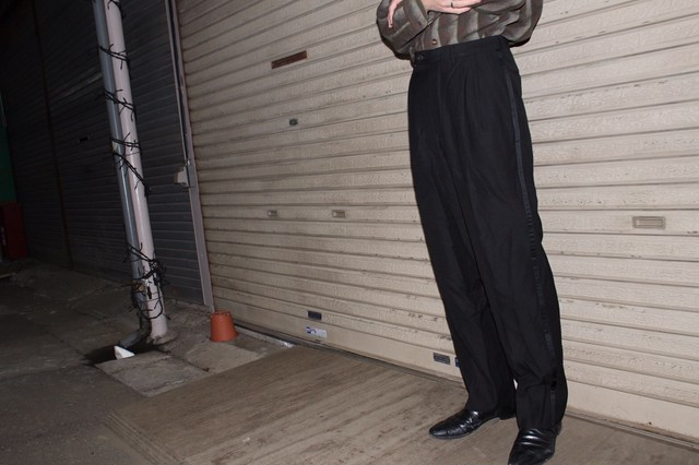 Remake Line Slacks Pants