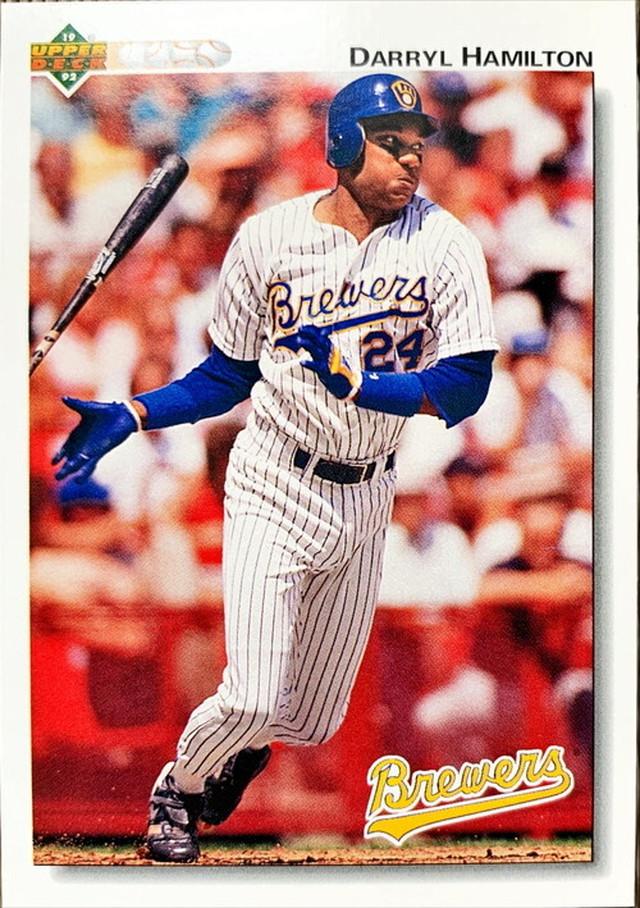 MLBカード 92UPPERDECK Darryl Hamilton #460 BREWERS