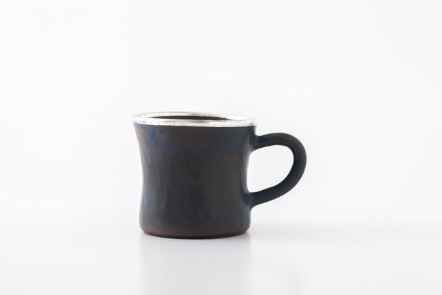diner mug:銀縁(05-1) / holk store × 中囿義光