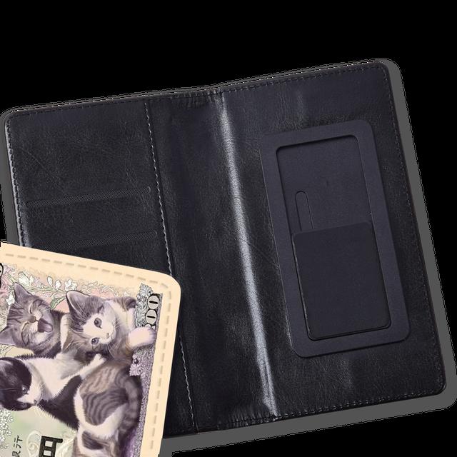 豆柴紙幣 手帳型スマホケース