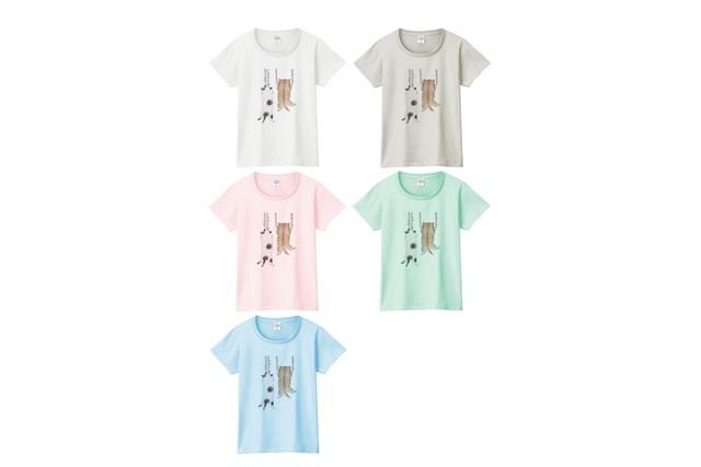 爪猫Tシャツ
