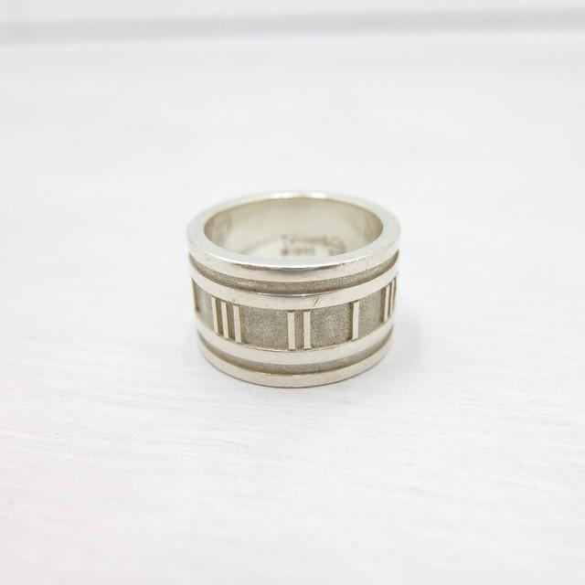 Tiffany & Co. ティファニー アトラスリング 925 シルバー 95's オールド 11号