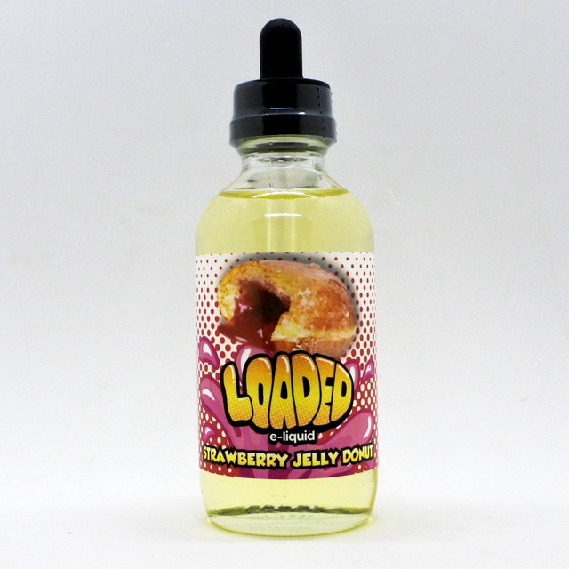 Loaded Strawberry Jelly Donut 120ml