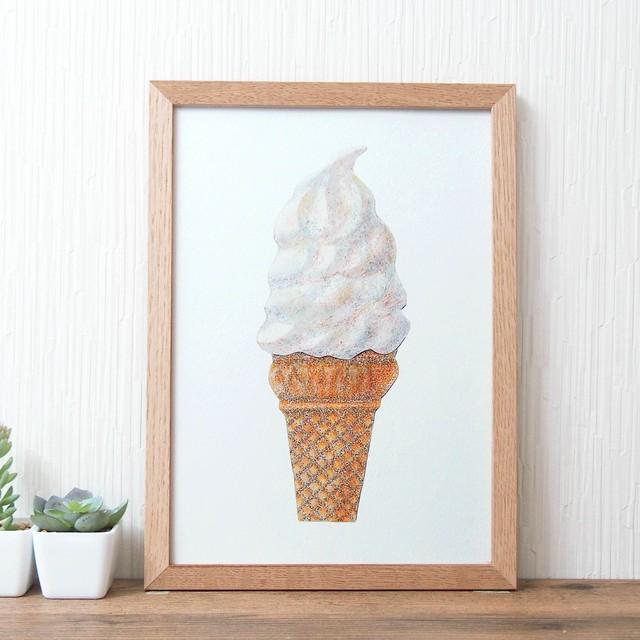 ポスター *ソフトクリーム