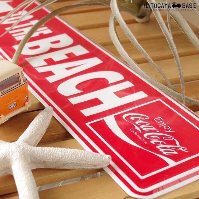 コカ・コーラ サインボード TO THE BEACH [SBCCBHR1]