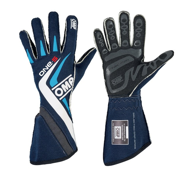 IB/755E/B ONE-S GLOVES MY2016 BLUE NAVY/CYAN
