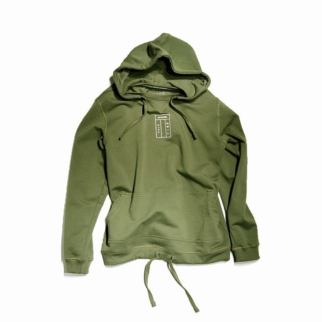 【MAHARISHI】 8902 MILTYPE HOODED SWEAT