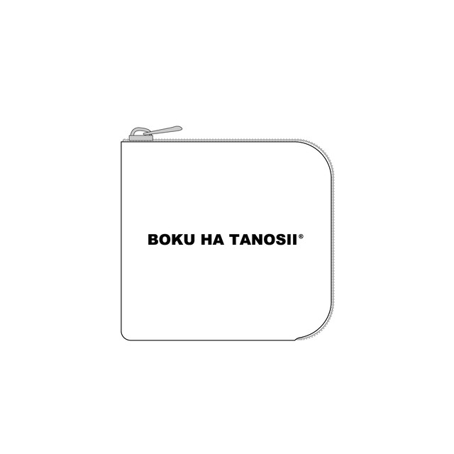 "BOKU HA TANOSII / ボクタノminiウォレット ""WH"""