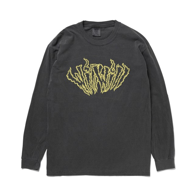 【WillxWill × Musollon】スペシャルコラボレーション Logo Long Sleeve Sumi