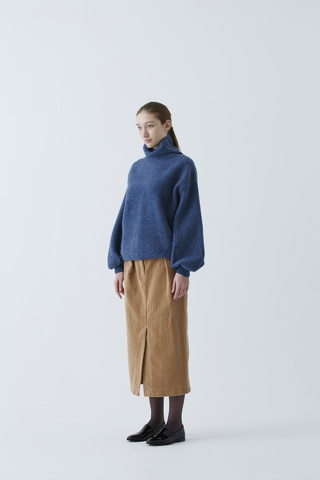 Wool Felt Peasant Sleeve Knit