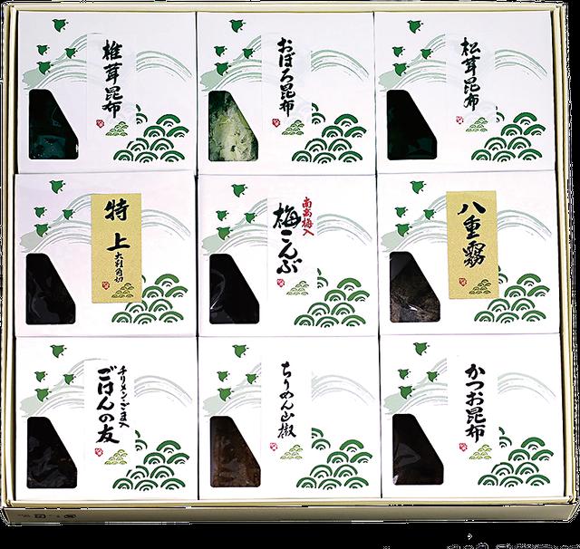KA-48 松茸佃煮詰合せ(9品) - メイン画像