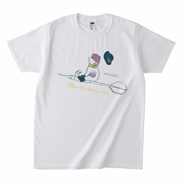 【Gekkle6月号掲載商品】ダーツデザインTシャツ(エレンちゃん)}