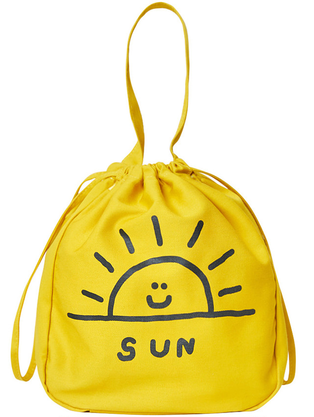 【inapsquare】BUCKET BAG SUN
