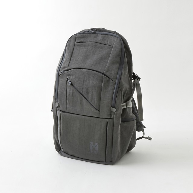 WM × MILLET BACKPACK 'CATAPIE' - GRAY