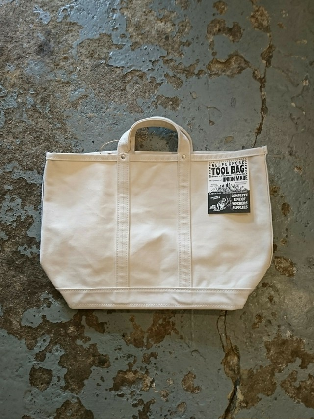 "LABOR DAY""TOOL BAG REGULAR"" White Color"