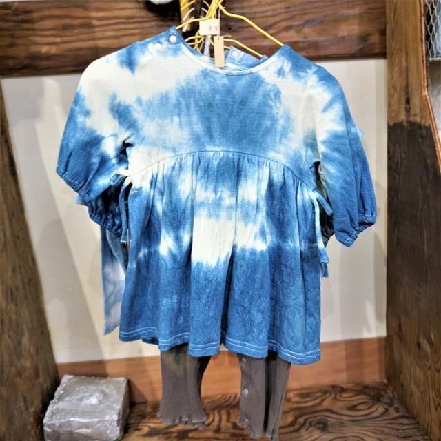 藍染こば屋 / 藍染の子ども服(レギンス付きワンピース型)