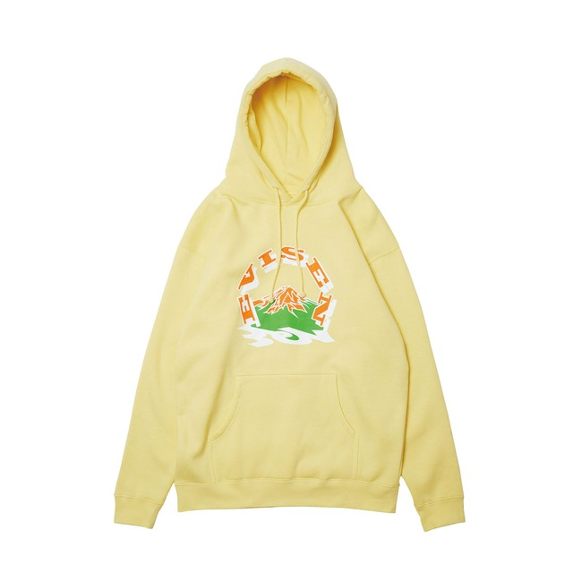 【Evisen Skateboards】EVIREST HOODY YELLOW