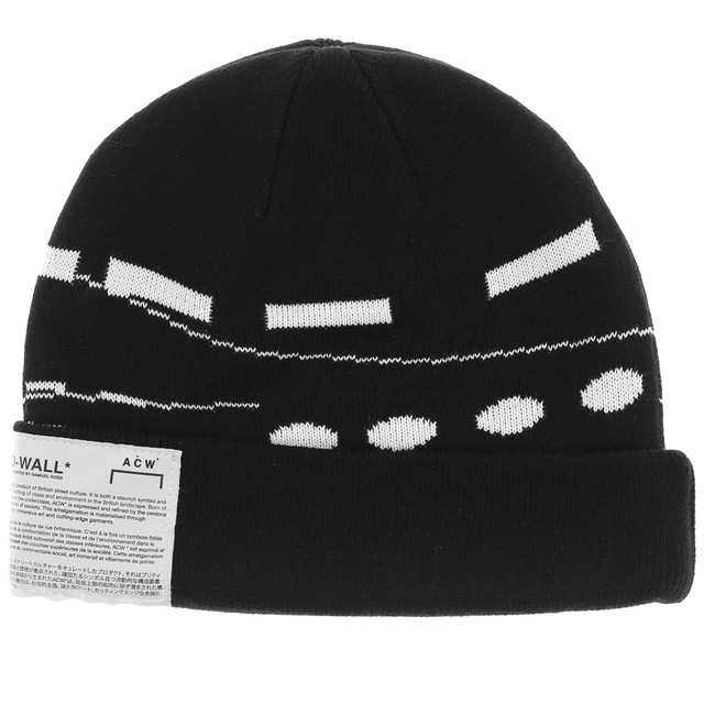 A-COLD-WALL* / BEANIE HAT WITH GRAPHIC PRINT