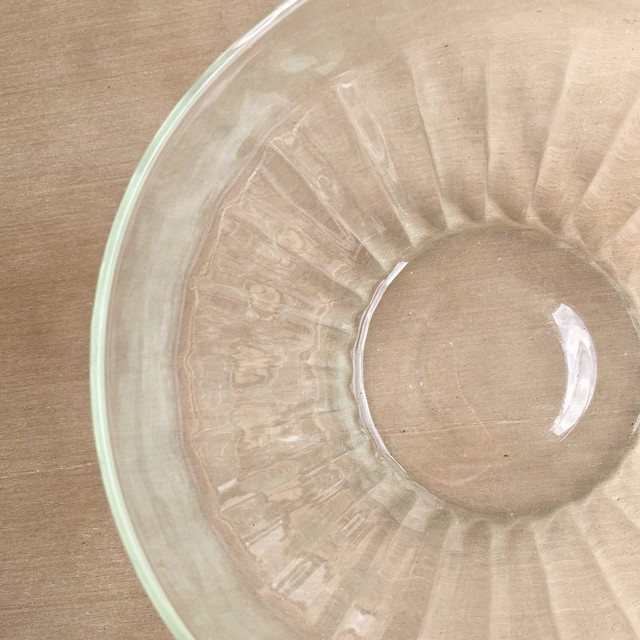 """ Reuse glass  Dish bowl large S / リューズガラス CLディッシュボウルラージ Ssize """