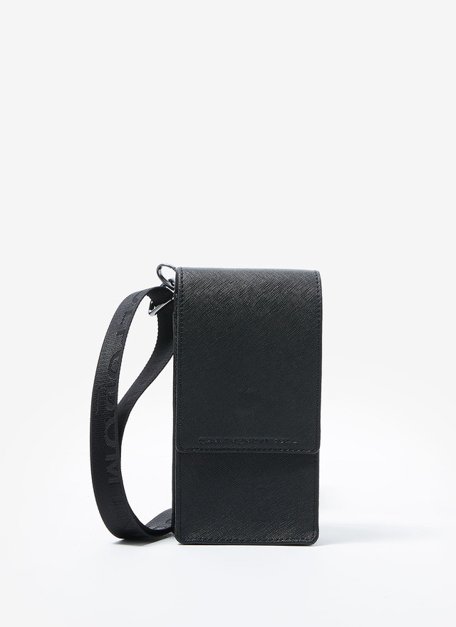 HANGING LEATHER PHONE CASE