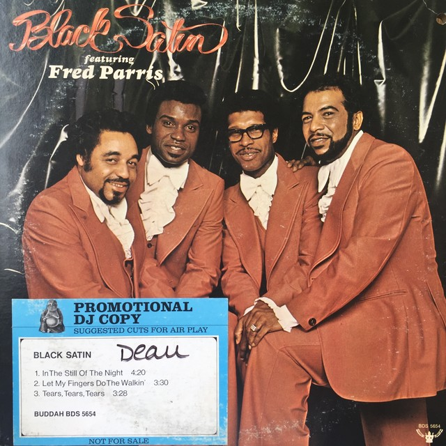 Black Satin featuring Fred Parris ‎– Black Satin