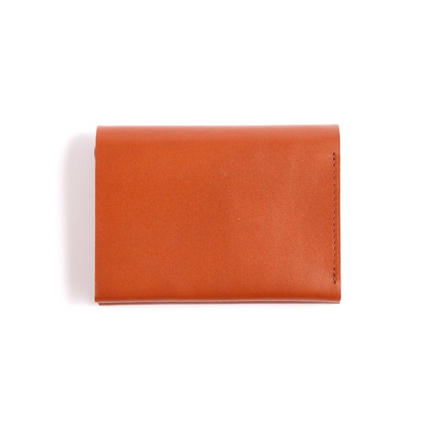 Postalco/Pressed Cotton Card & Coin Wallet/Brick  Red