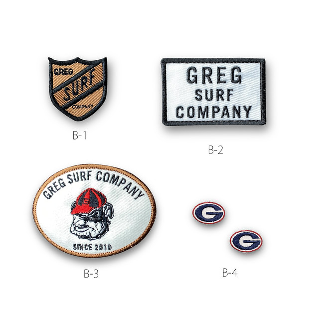 GREG PATCHES ASSPRT SET-B