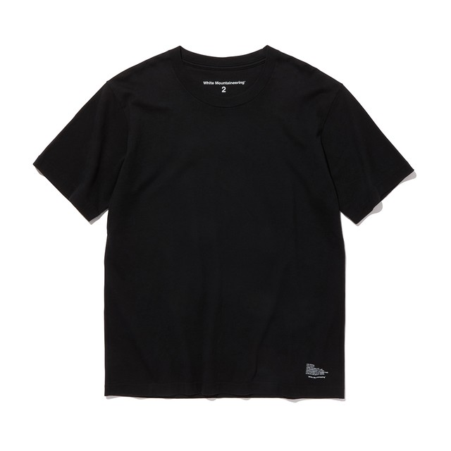 LOGO PRINTED T-SHIRT-BLACK