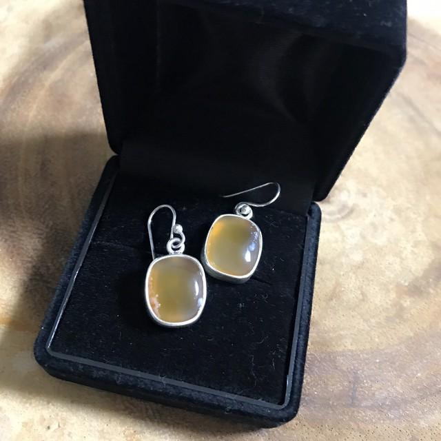 Natural Amber Earings