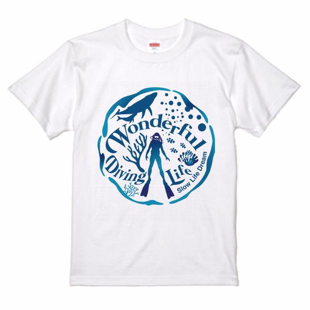 Wonderful Diving Life Tシャツ