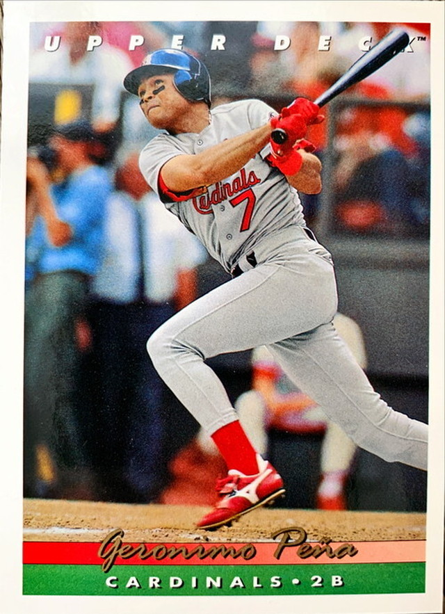 MLBカード 93UPPERDECK Geronimo Pena #331 CARDINALS