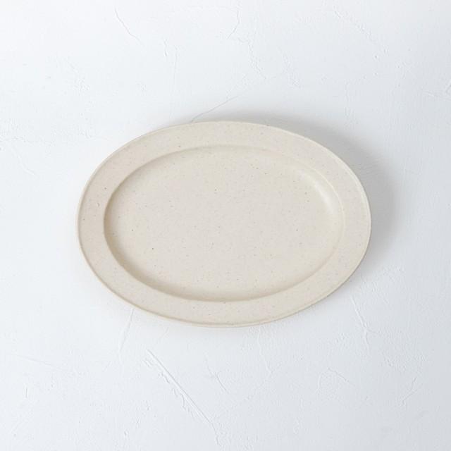 [幾田 晴子]白瓷 六角雪輪小皿