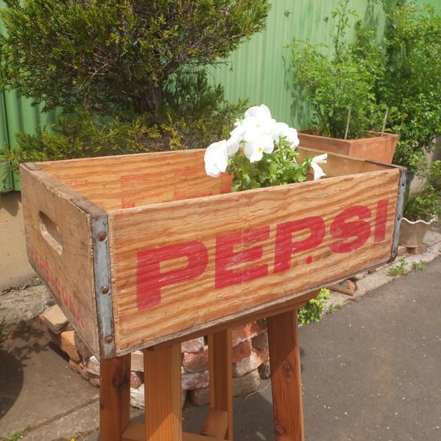 アンティーク木箱(PEPSI)