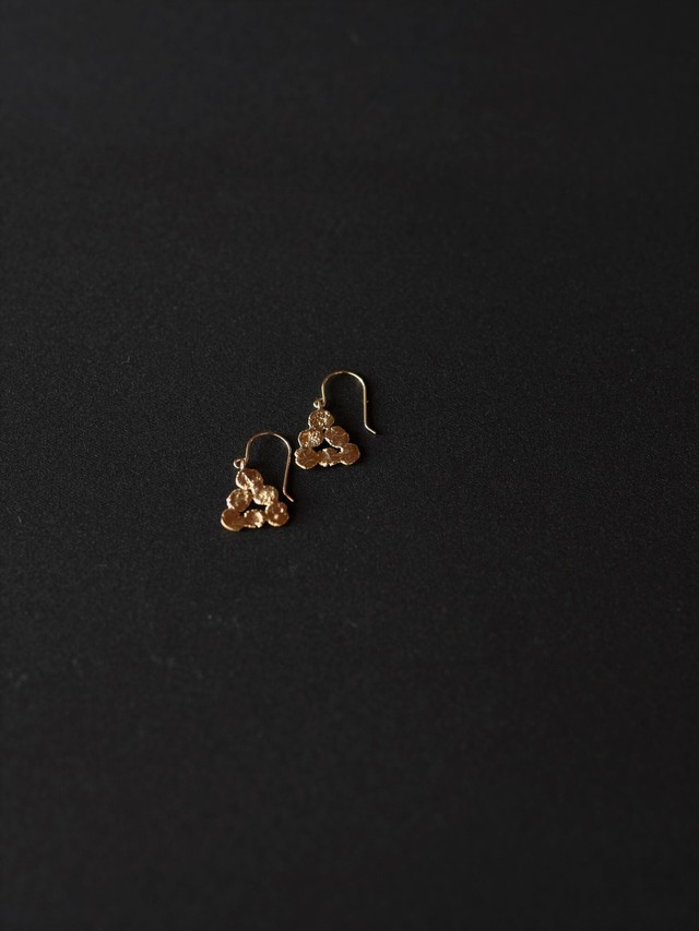 p17 まるまる三角フック brass