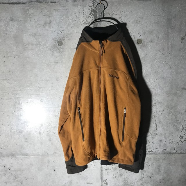 [used]chestnut color fleece jacket