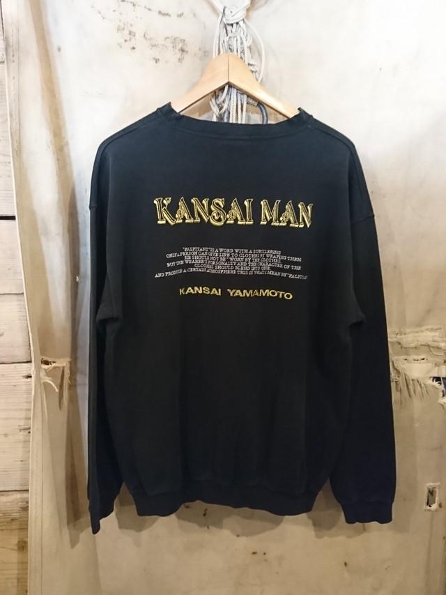 """80〜90s YAMAMOTO KANSAI """"KANSAI MAN""""  SWEAT SHIRT"""