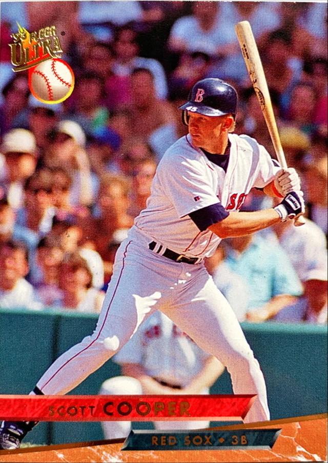 MLBカード 93FLEER Scott Cooper #149 RED SOX