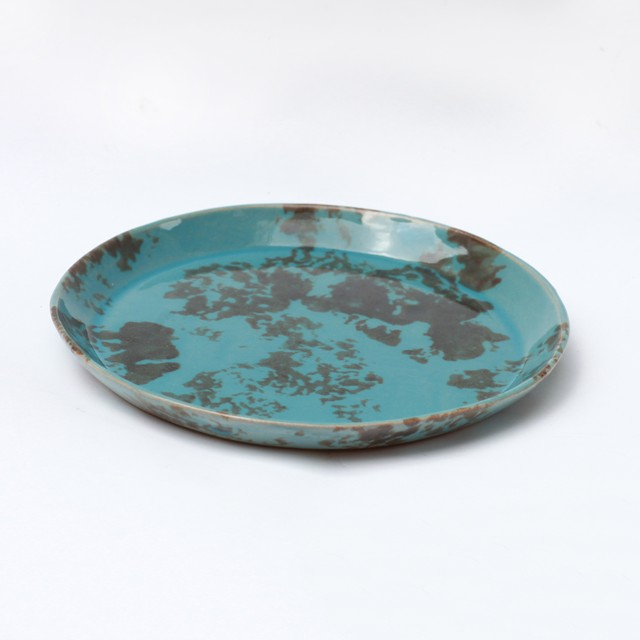 huge ceramics (ヒュージセラミックス) by 堀内大輔 丸皿 模様②